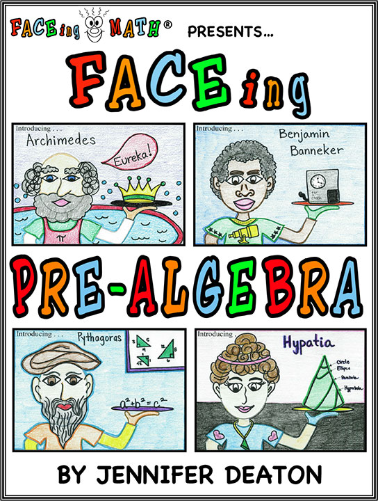 image regarding Faceing Math Printable Worksheets named FACEing Pre-Algebra
